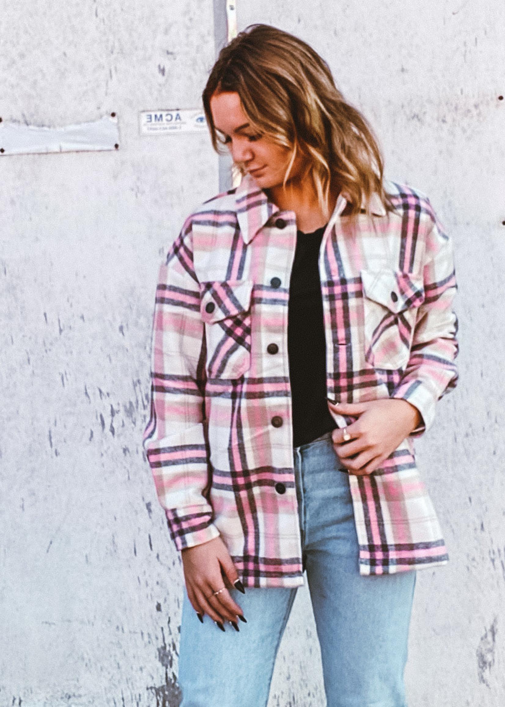 Dex The Cami Jacket Pink