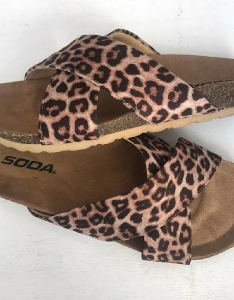 LOSA Leopard Sandal