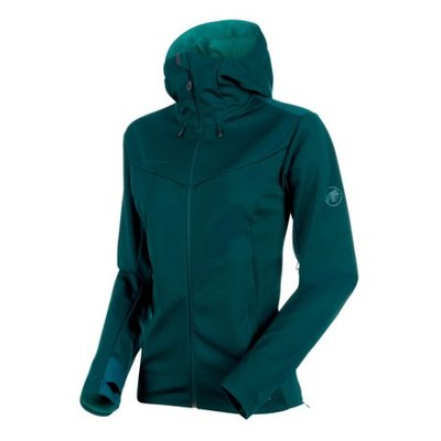 MAMMUT Mammut - Women's  Ultimate V Hooded Softshell Jacket