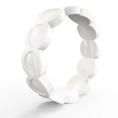 QALO Qalo - Women's Scallop Silicone Ring
