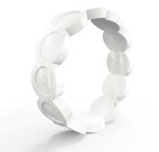 Qalo Women S Scallop Silicone Ring Gear 30