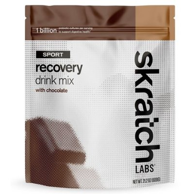 Skratch Labs - Sport Recovery Drink Mix - Chocolate - Single Serving