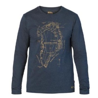 FJALLRAVEN Fjallraven - Men's Greenland Printed Long Sleeve