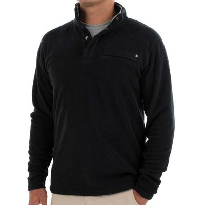 FREE FLY Free Fly - Men's Bamboo Polar Fleece Snap Pullover
