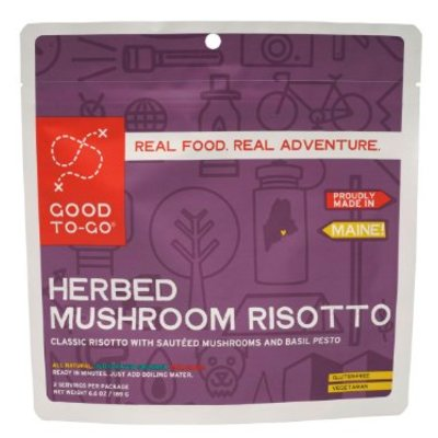 Good To-Go Good To Go - Herbed Mushroom Risotto - 2 Servings