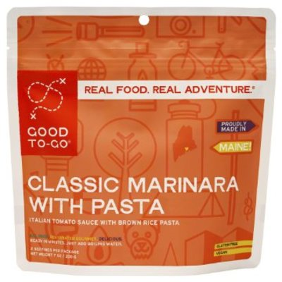 Good To-Go Good To Go - Classic Marinara with Penne - 2 Servings
