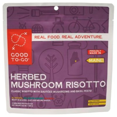 Good To-Go Good To Go - Herbed Mushroom Risotto - 1 Serving