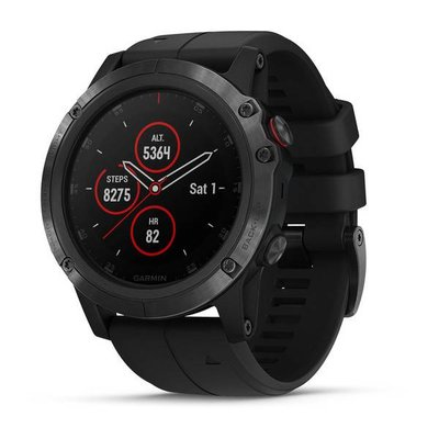 Garmin - Fenix 5X Plus Black
