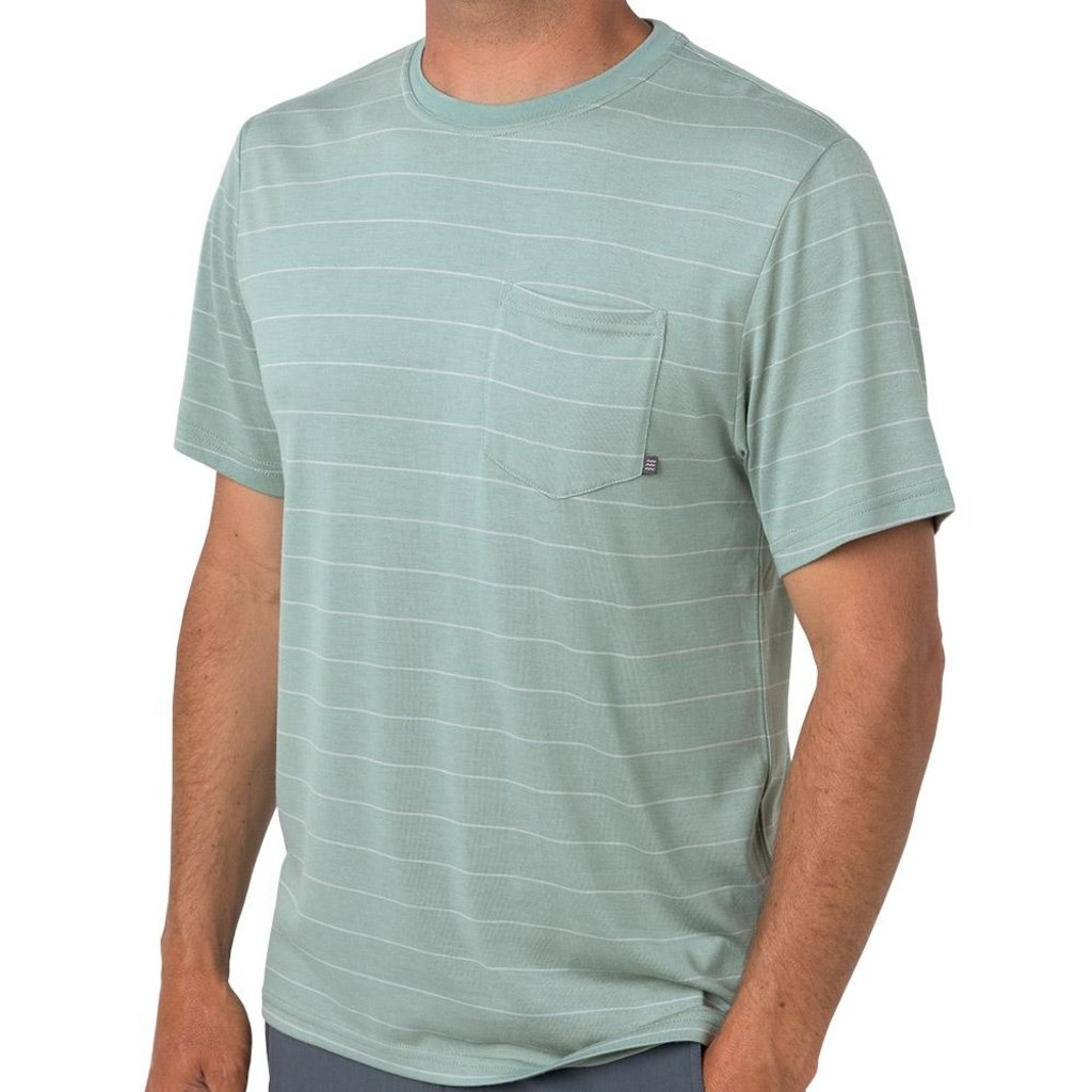 FREE FLY Free Fly - Bamboo Channel Pocket Tee
