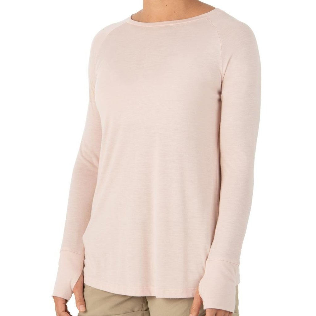 FREE FLY Free Fly - Women's Bamboo Weekender Long Sleeve