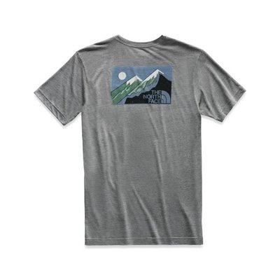 THE NORTH FACE The North Face - Short Sleeve Gradient Desert Tri-Blend Pocket Tee