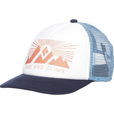 BLACK DIAMOND BLACK DIAMOND - W TRUCKER HAT WHITE-BLUE ASH