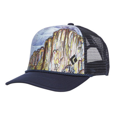 d2fb108a6fe Black Diamond - Flat Bill Trucker Hat