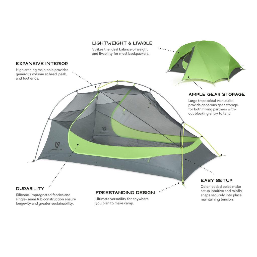 NEMO Nemo - Dragonfly Ultralight Backpacking Tent