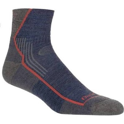 DARN TOUGH Darn Tough - MEN'S HIKER 1/4 SOCK CUSHION