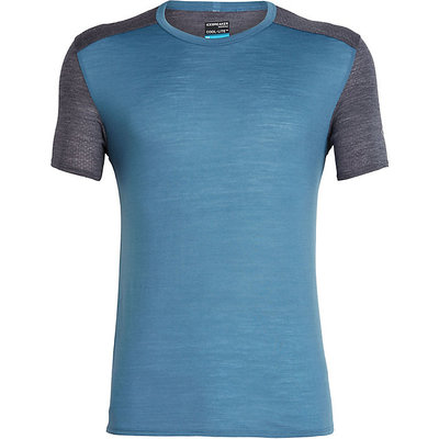 ICEBREAKER Icebreaker - Men's Amplify Short Sleeve Crewe