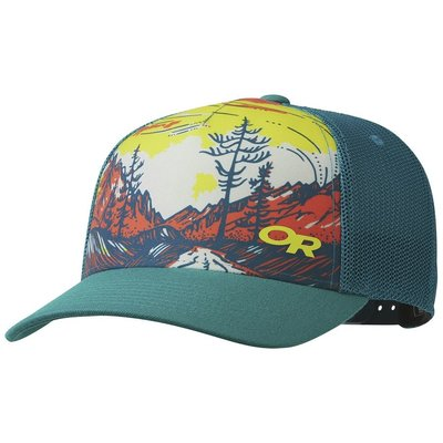 6879682ef6d OUTDOOR RESEARCH Outdoor Research - Alpenglimmer Trucker Hat