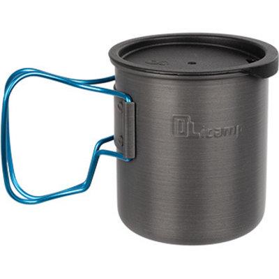 OLICAMP Olicamp - Space Saver Mug Hard Anodized with Lid