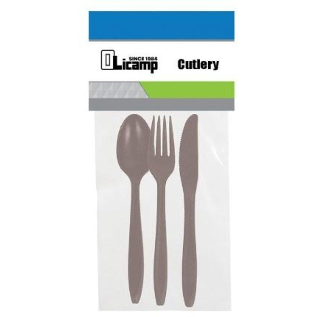 OLICAMP Olicamp - 3 piece cutlery - Smoke
