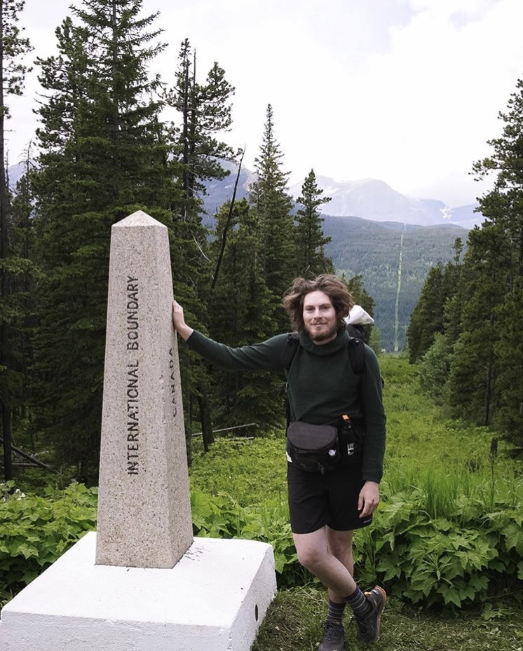 The Northern Terminus Monument - Marking the beginning of the 3,100 mile trail