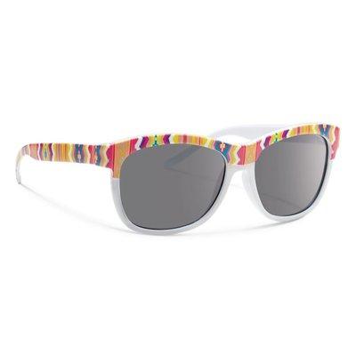FORECAST OPTICS Forecast Optics - Kid's Meet Sunglasses - White/Gray