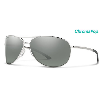 SMITH OPTICS Smith - Serpico 2 Silver ChromaPop Polarized Platinum