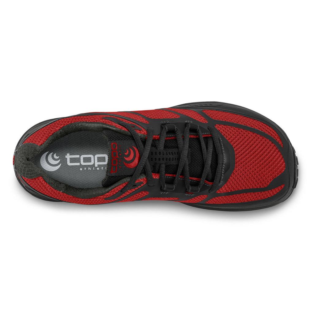 TOPO Topo - Men's Terraventure 2 Trail Running Shoe Red/Black