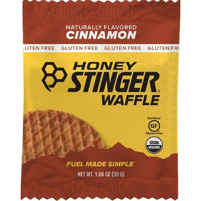 HONEY STINGER Honey Stinger - Waffle Gluten Free Cinnamon