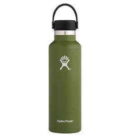 HYDRO FLASK Hydro Flask - 21 oz. Standard Mouth w/ Standard Flex Cap - Olive