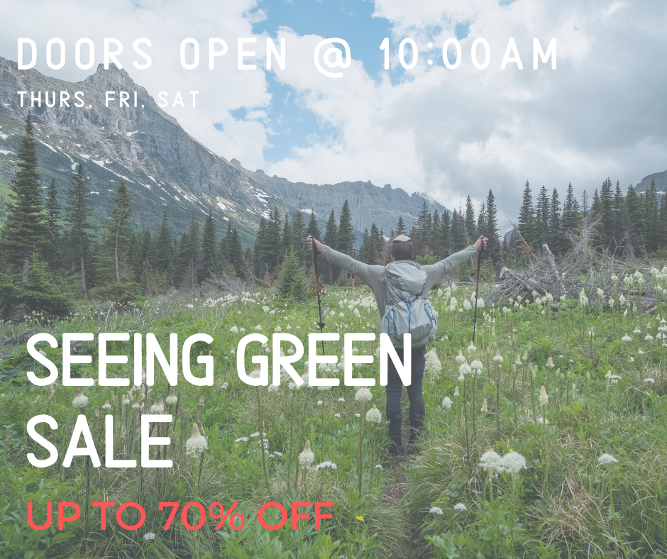 Seeing Green Winter Clearance