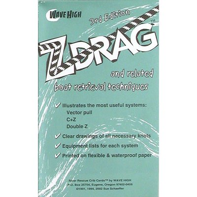 NRS NRS - Z-Drag Rescue Crib Sheet