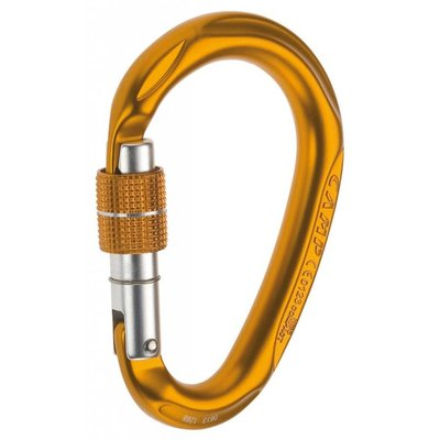 CAMP CAMP - HMS Compact Screwgate Carabiner, Orange