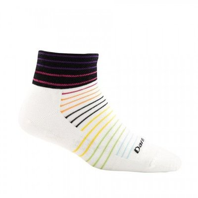 DARN TOUGH Darn Tough - Women's Pin Stripe 1/4 Sock