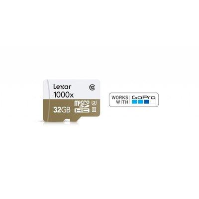 GOPRO GoPro - 32GB Lexar Micro SDHC Memory Card, 633X