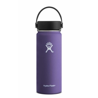HYDRO FLASK Hydro Flask - 18 oz Wide Mouth w/ flex cap White