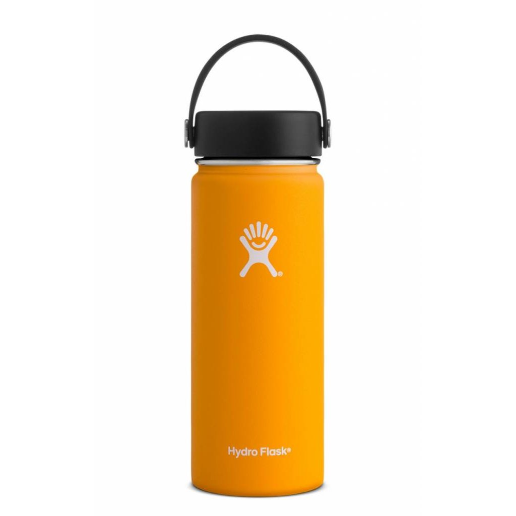 HYDRO FLASK Hydro Flask - 18 oz Wide Mouth w/ flex cap White