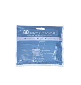 CleanWaste - Go Anywhere Waste Kit Single