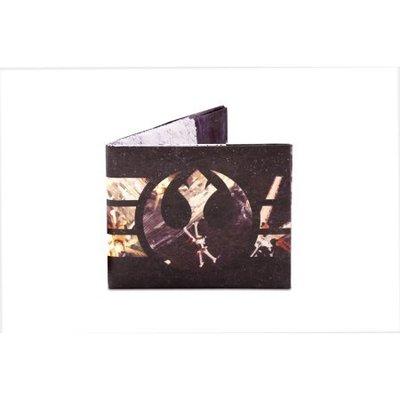 DYNOMIGHTY Dynomighty - Mighty Wallet, Rebel Logo w/ X-Wings, O/S