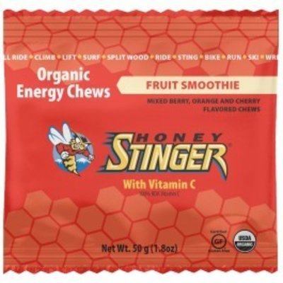 HONEY STINGER Honey Stinger - Organic Energy Chews, Fruit Smoothie