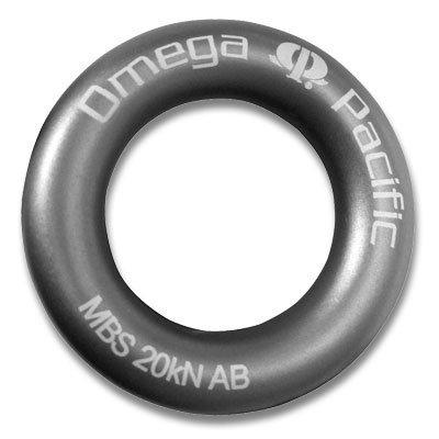 OMEGA PACIFIC Omega - Aluminum Rappel Ring