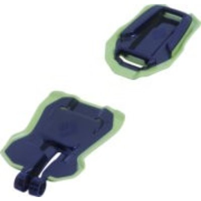 BLACK DIAMOND Black Diamond - ABS Stinger Anti-balling plates, Smoke/Lime