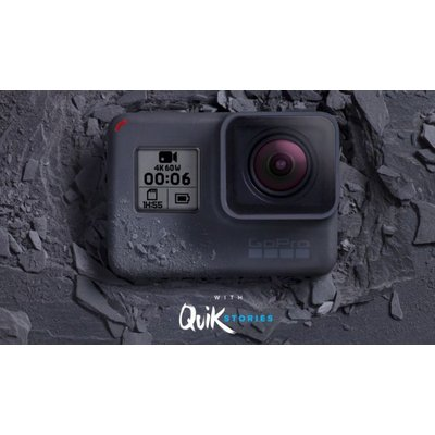 GOPRO GoPro - HERO6 Black with SD Card