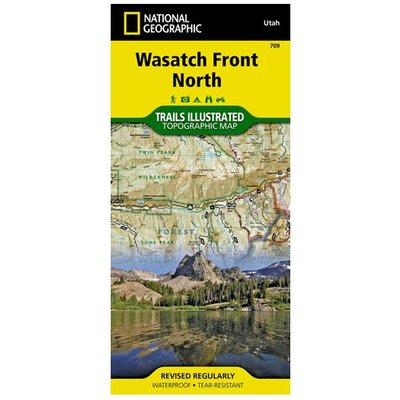 NATIONAL GEOGRAPHIC National Geographic - Trail Maps - Northern Utah