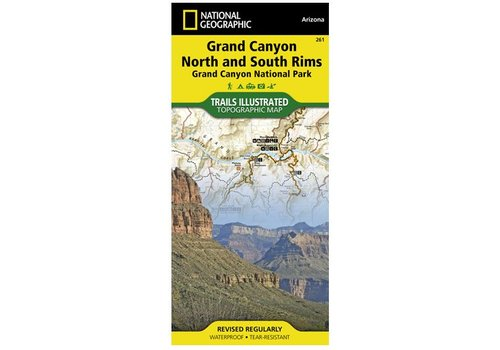 NATIONAL GEOGRAPHIC National Geographic - Trail Maps - Grand Canyon