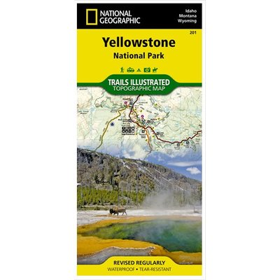 NATIONAL GEOGRAPHIC National Geographic - Trail Maps - East Utah/ Wyoming