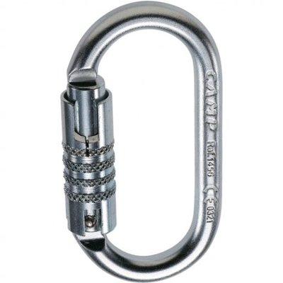 CAMP CAMP - Steel Oval 3 Lock Carabiner