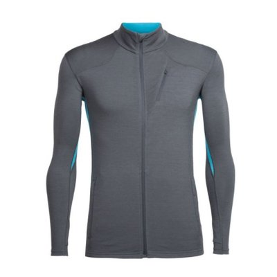 ICEBREAKER Icebreaker - Men's Fluid Zone LS Zip
