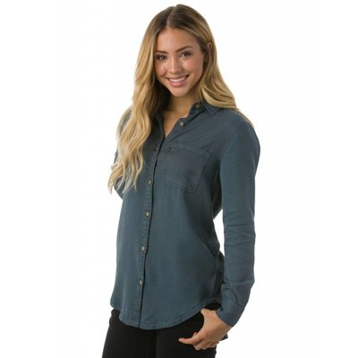 TENTREE TenTree - Women's Lush Tencel L/S Button Up