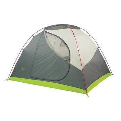 BIG AGNES Big Agnes - Rabbit Ears 6 Person Tent, Lime/Gray