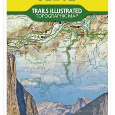 NATIONAL GEOGRAPHIC National Geographic - Trails Maps - Yosemite #206
